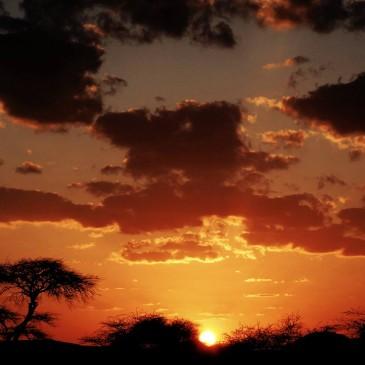 """Il sole ormai è in Etiopia"""